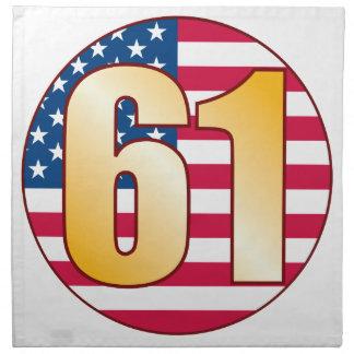 61 USA Gold Napkin