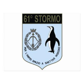 61o Stormo Postcard