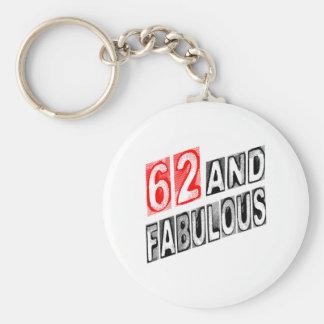 62 And Fabulous Key Chain