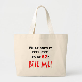 62 Bite Me! Jumbo Tote Bag