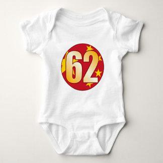 62 CHINA Gold Baby Bodysuit