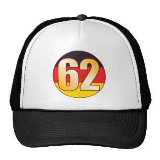 62 GERMANY Gold Cap