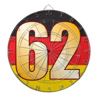 62 GERMANY Gold Dartboard