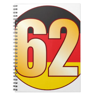 62 GERMANY Gold Notebooks