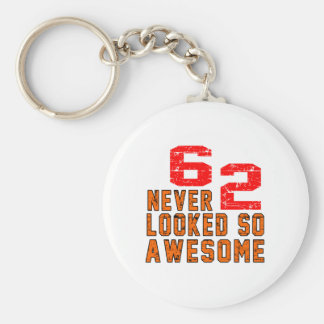 62 never looked so awesome keychain