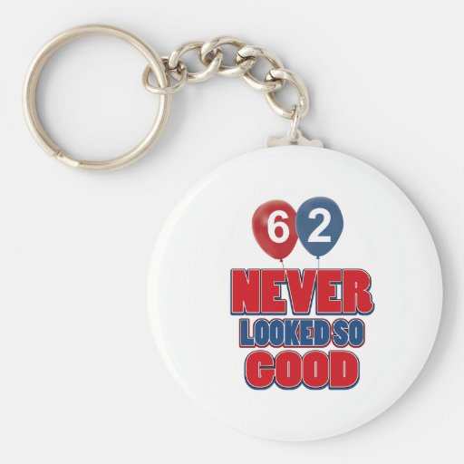 62 never looked so good key chains