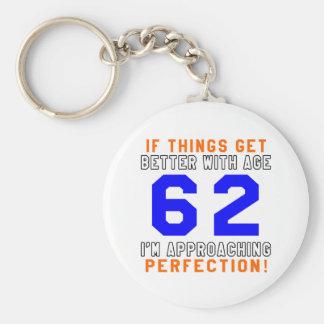 62 Perfection Birthday Designs Keychain