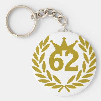 62-real-laurel-crown key chain