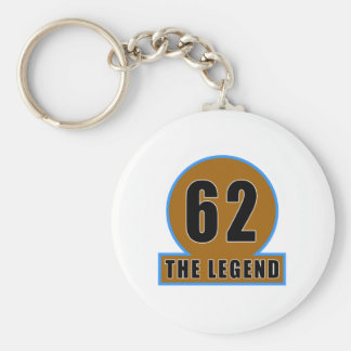 62 The Legend Birthday Designs Keychain