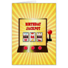 62nd birthday slot machine card