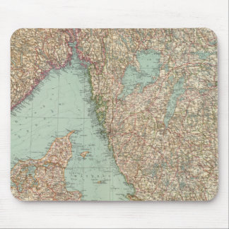 6364 Sweden, southern Norway Mouse Mat