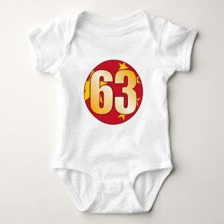 63 CHINA Gold Baby Bodysuit