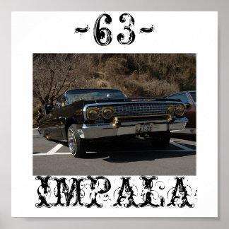 63 IMPALA POSTER