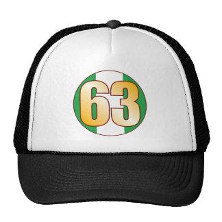 63 NIGERIA Gold Cap