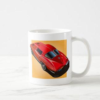 63 Split Window Redon Yellow Coffee Mug