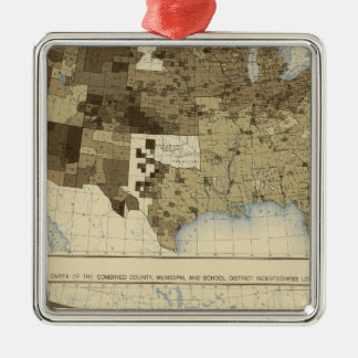 63 Taxation, indebtedness 1890 Christmas Ornament