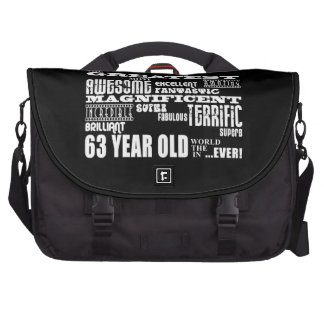 63rd Birthday Party Greatest Sixty Three Year Old Commuter Bag