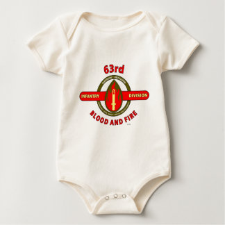 """63RD INFANTRY DIVISION """" PRIDE-HONOR-SERVICE"""" BABY CREEPER"""