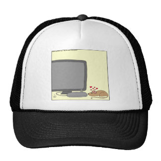640 mouse love cartoon cap