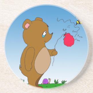 643 bee pops bears balloon cartoon coasters
