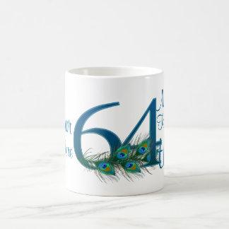 # 64 - 64th Wedding Anniversary or 64th Birthday Coffee Mug