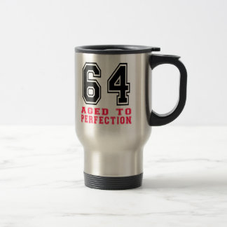 64 Aged to Perfection Travel Mug