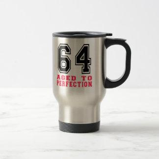 64 Aged to Perfection Travel Mug