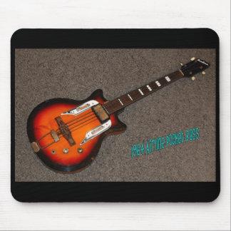 """64 Airline Guitar Mousepad"