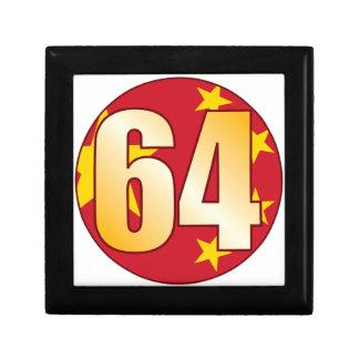64 CHINA Gold Gift Box
