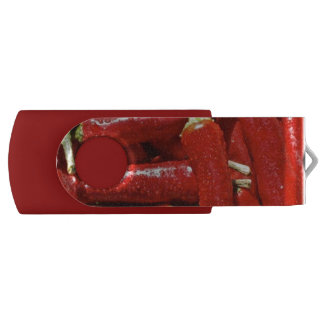 64 GB USB FLASH DRIVE WITH RED CHILI