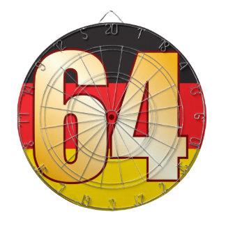 64 GERMANY Gold Dartboard