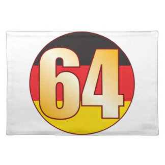 64 GERMANY Gold Placemat