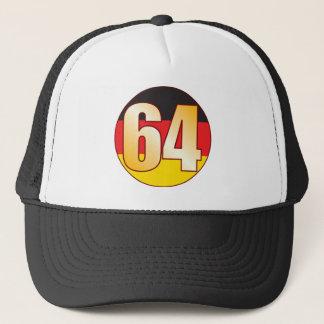 64 GERMANY Gold Trucker Hat