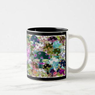 64 Mushrooms 5 Coffee Mugs