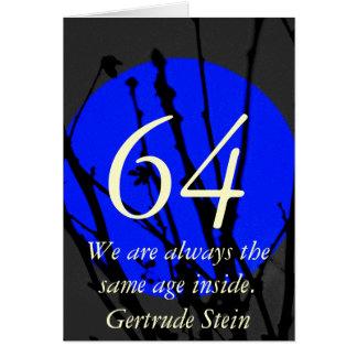 64th Birthday Card