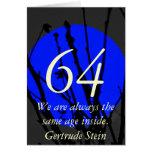 64th Birthday Greeting Card