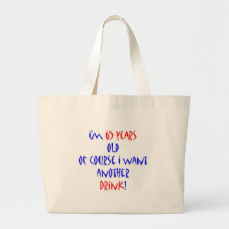 65 another drink jumbo tote bag