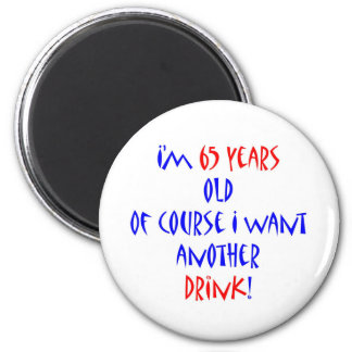 65 another drink fridge magnet