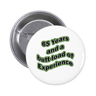 65 butt-load 6 cm round badge