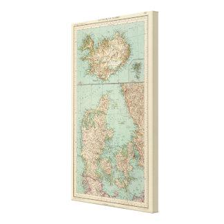 65 Denmark, Iceland Canvas Print