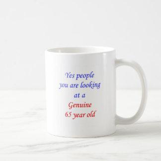 65  Genuine 65 Year Old Coffee Mug