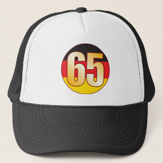 65 GERMANY Gold Trucker Hat
