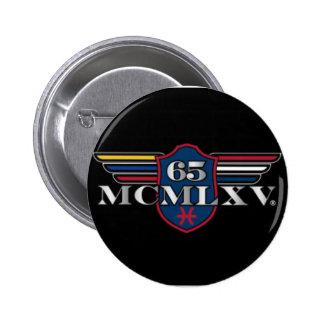 65 MCMLXV Logo Small Round Button