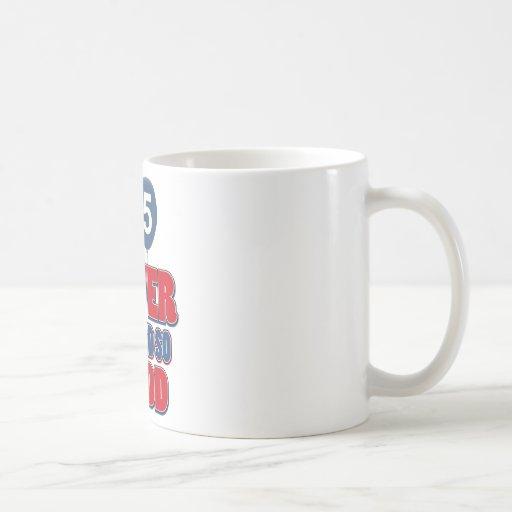 65 never looked so good mug