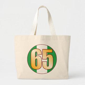 65 NIGERIA Gold Jumbo Tote Bag