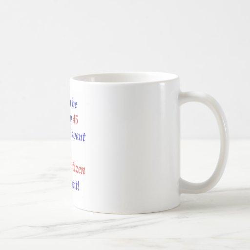 65 Senior Citizen Mug
