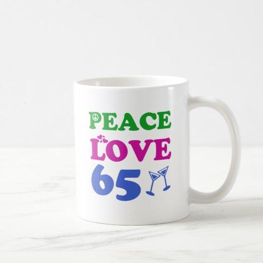 65 year old design mugs