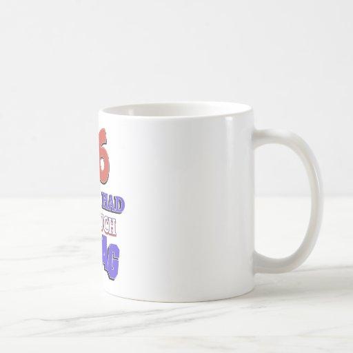 65 year old design coffee mugs