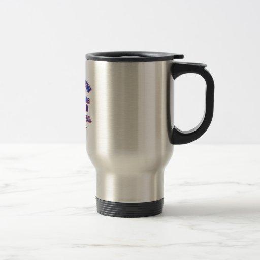 65 year old design coffee mug
