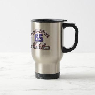 65 year old designs coffee mug